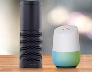 Integration and Learning for voice-enabled services(Alexa, Google Home)